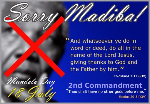 Sorry Madiba