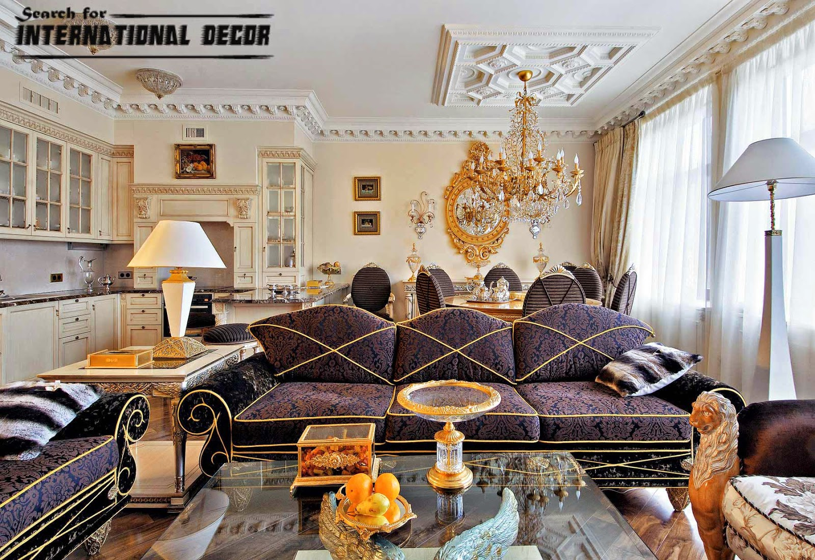 Top ideas for neoclassical style in the interior and furniture Neo classic interior design