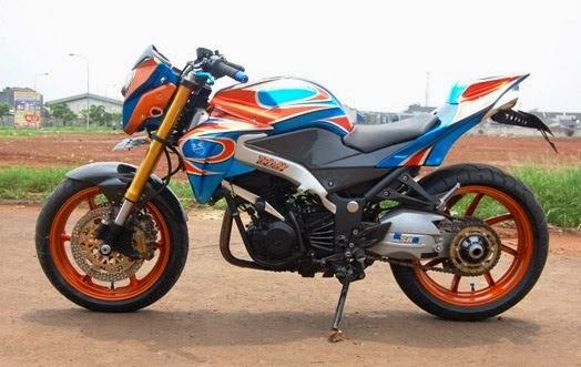 Modifikasi Motor Kawasaki