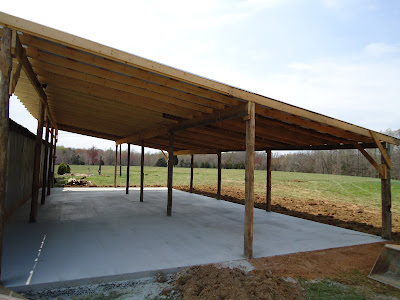 Concrete Floor In Pole Barn