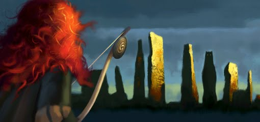 pixar brave concept art. Pixar#39;s quot;Bravequot; concept art