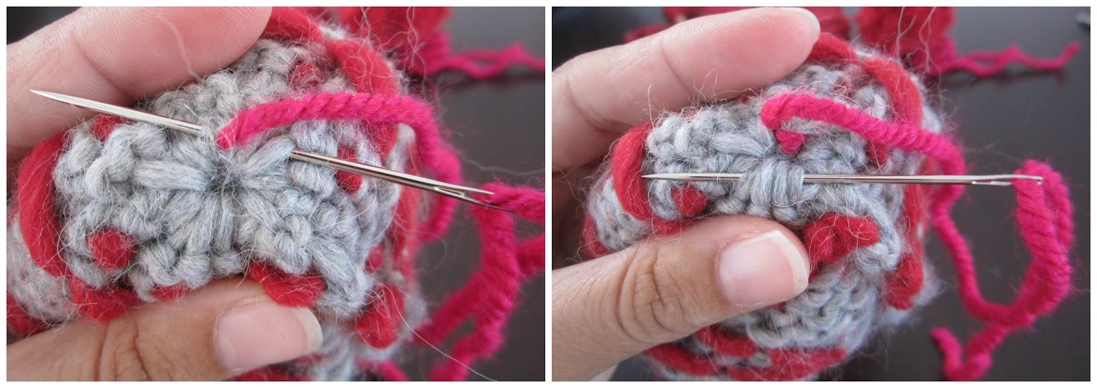 mis nancys, mis peques y yo, tutorial gorros de lana nancy, coser pompón de lana al gorro