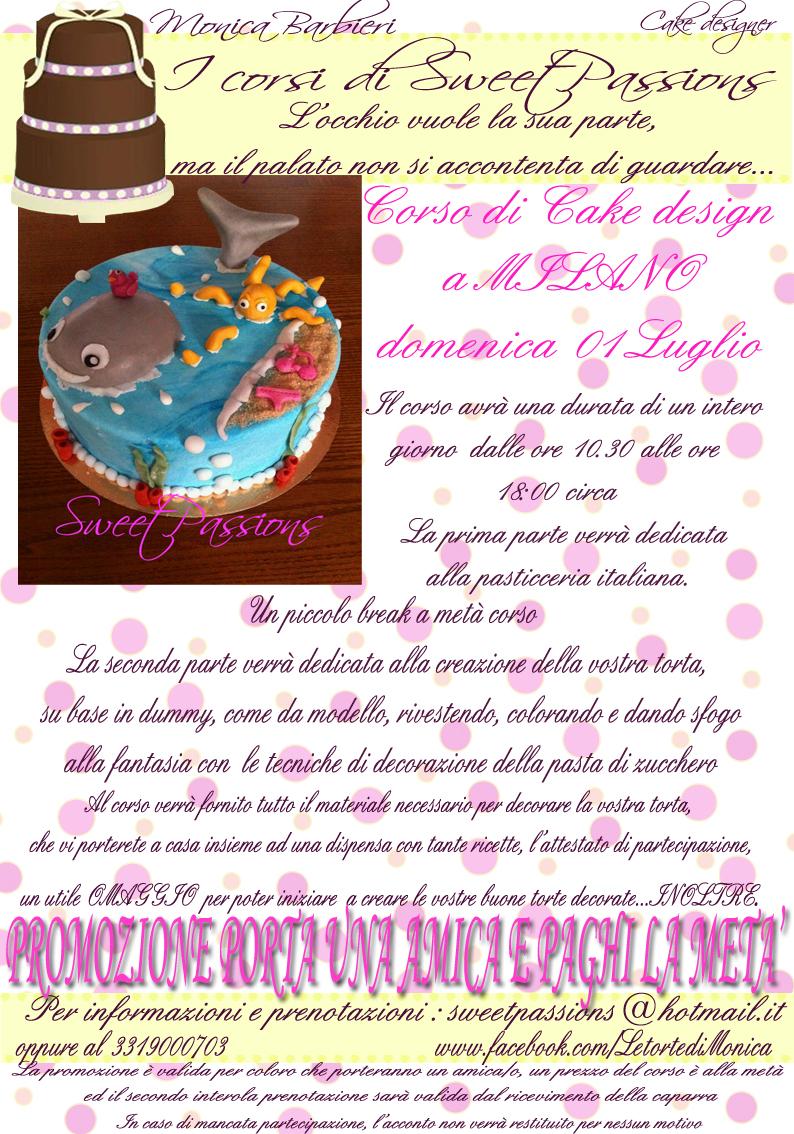 Corso Di Cake Design Milano Groupon : Corso di Cake Design con Monica Barbieri - Eventi a Milano