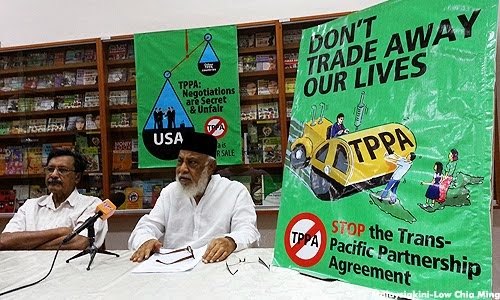 STOP NEO-COLONIZATION THRU' TPPA !