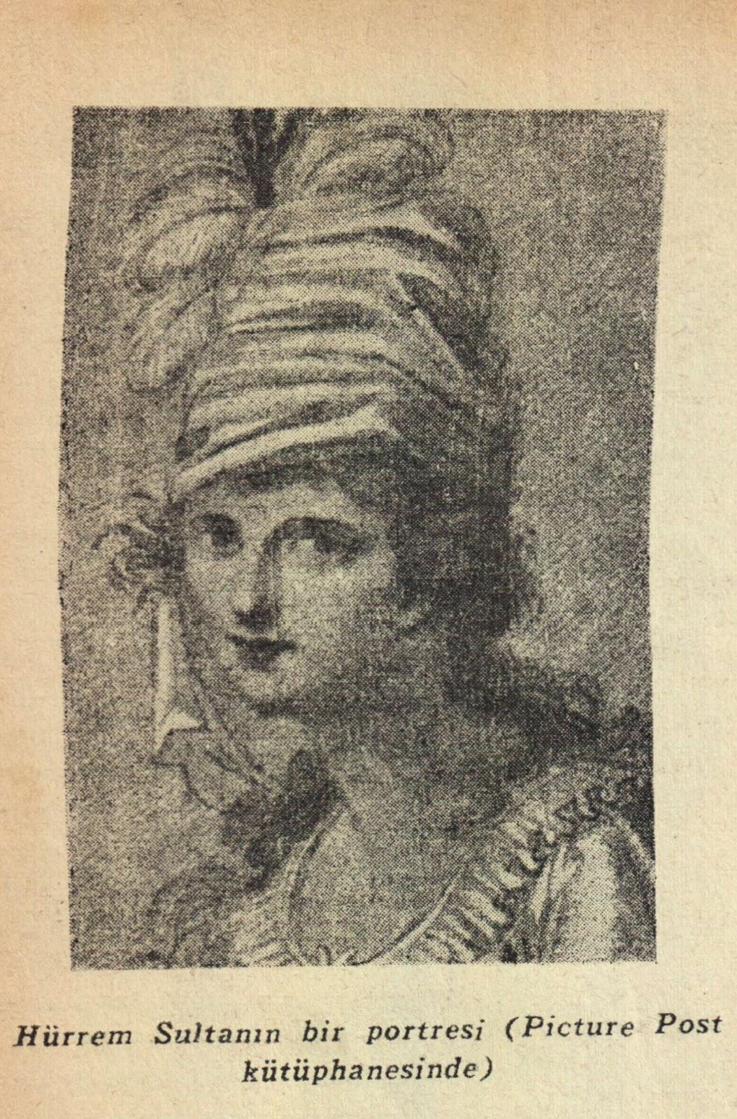 Hürrem sultanın bir portresi soruların altına yazdığımız