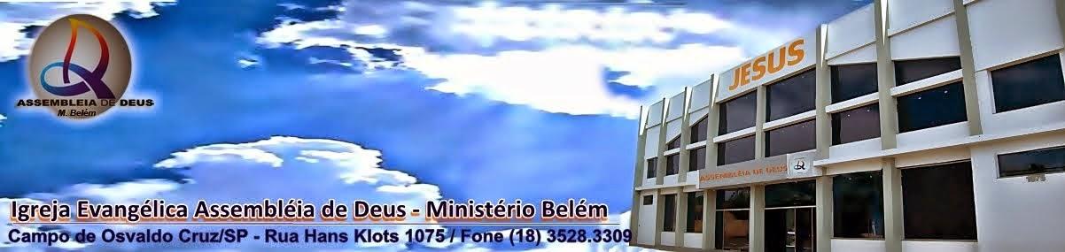 Assembléia de Deus Belém - Campo de Osvaldo Cruz