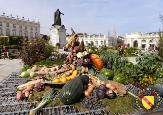 NANCY (54) - Place Stanislas : les jardins éphémères 2013
