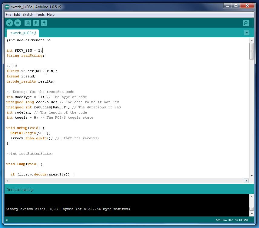 ir - Problem using IRremote library - Arduino Stack