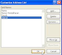 cara membuat mail merge di ms.word 2007
