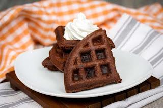 brownie-waffles