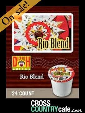 Rio Blend Diedrich Wacky Weekend Sale K-Cup Cross Country Cafe Coffee