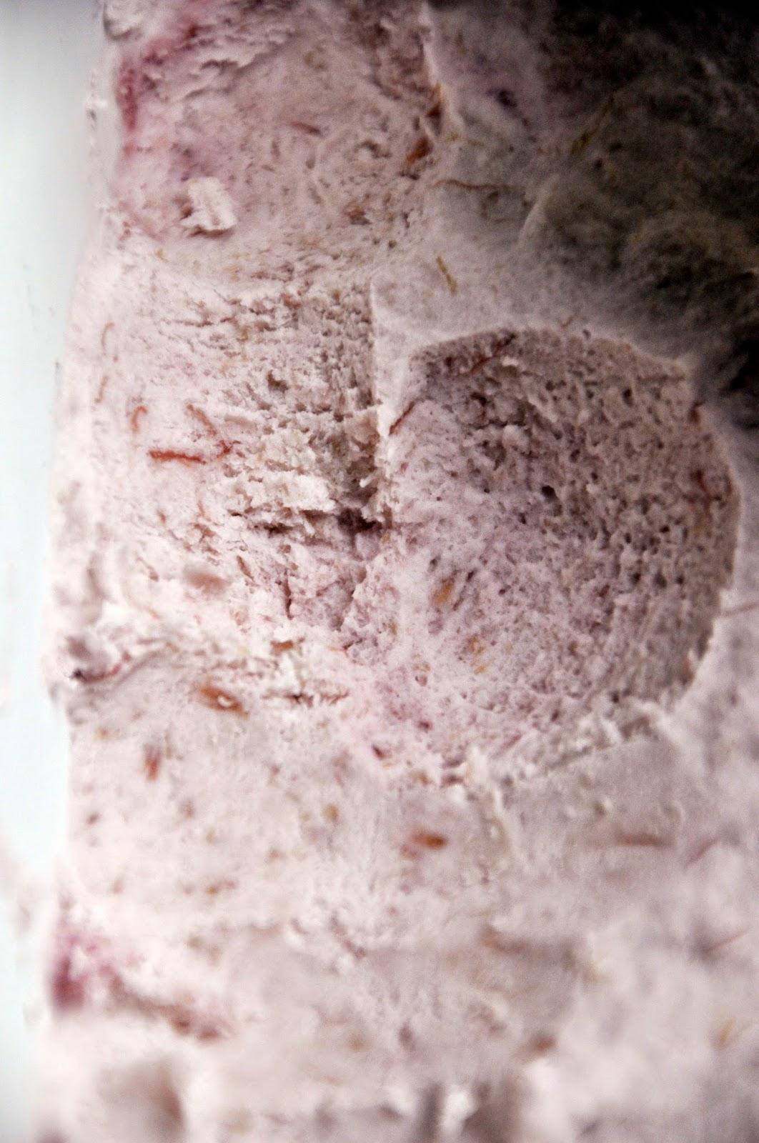 Szybko Tanio Smacznie - Kremowe lody rabarbarowe z czerwonym winem