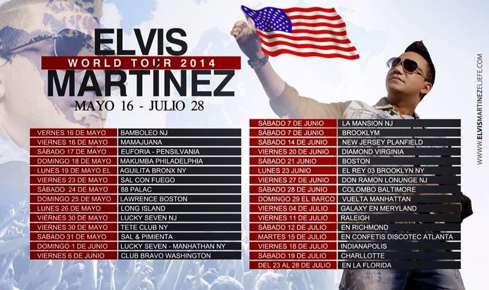 ELVIS MARTINEZ TOUR 2014