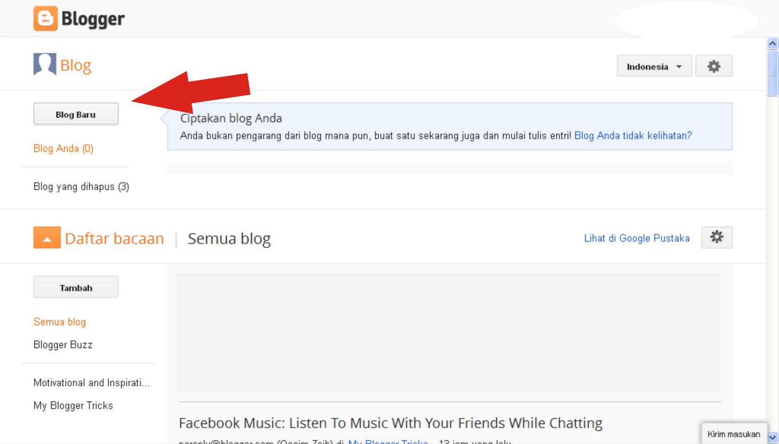 5. Masuklah dengan akun Gmail yang sudah kalian buat tadi,