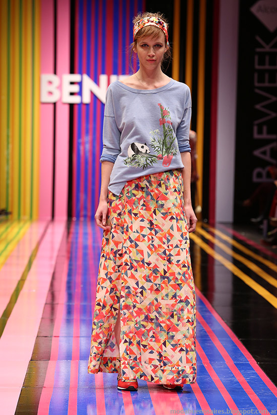 Benito Fernandez primavera verano 2015 faldas de moda 2015.