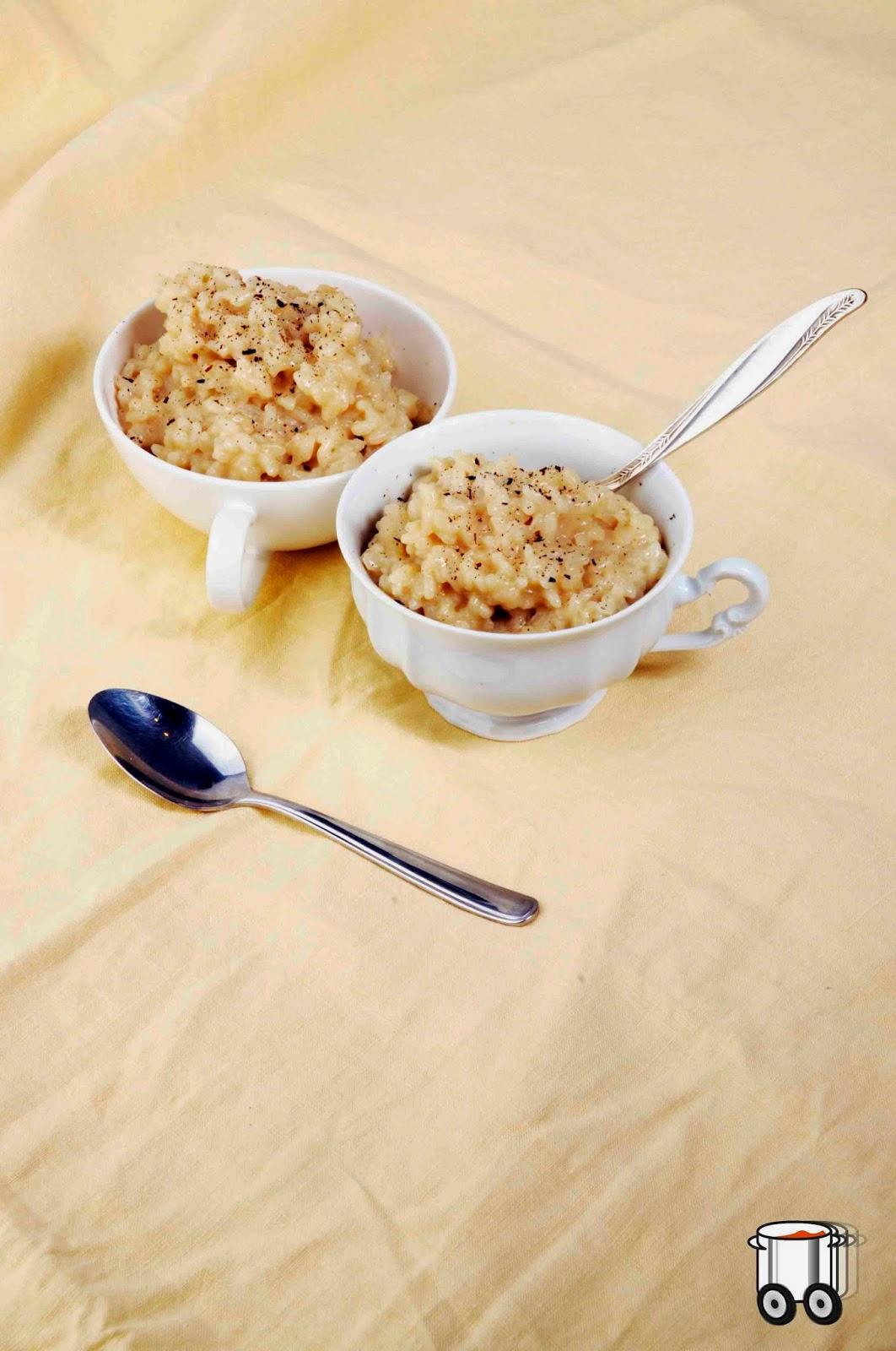 Szybko Tanio Smacznie - Ryż na mleku (bez glutenu, bez laktozy, wegański)