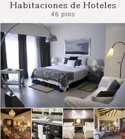 Tablón del blog hotelero habitaciones de hoteles en pinterest