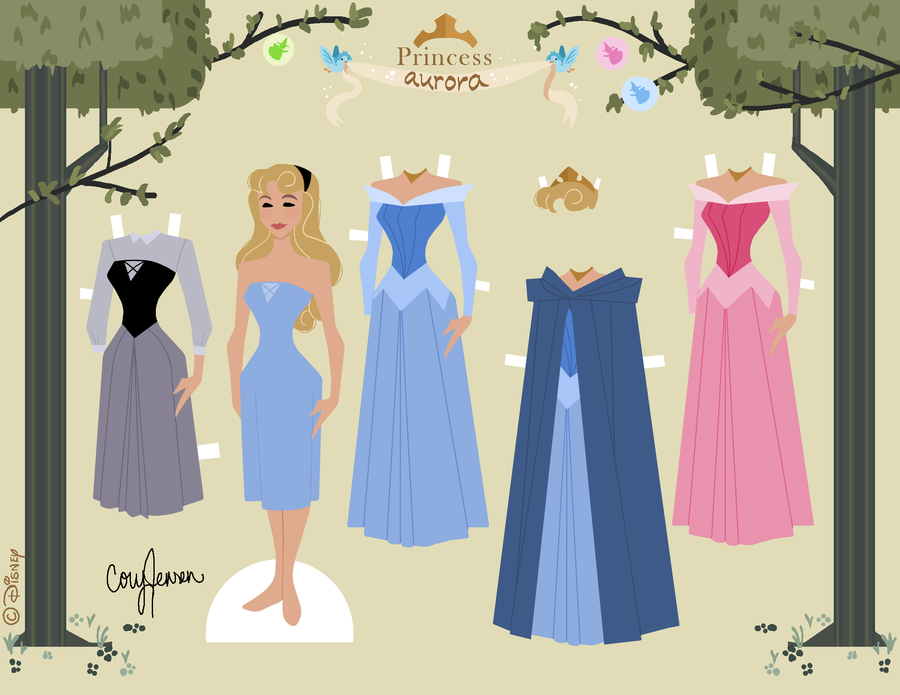 Sleeping Beauty Free Printable Doll Is It For PARTIES
