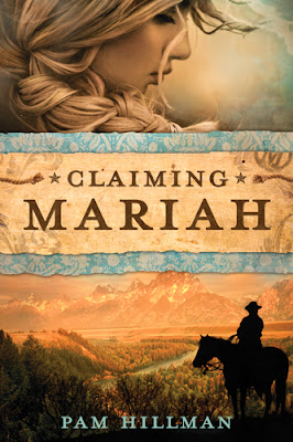 book review of Claiming Mariah by Pam Hillman (Tyndale House) by papertapepins