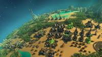 Screen z Planetary Annihilation - baza na planecie