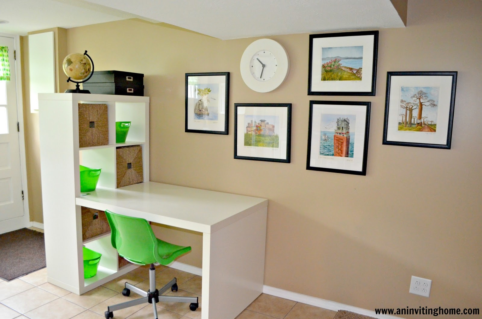 An inviting home 6 tips to organizing a kid 39 s craft space - Desks for small spaces for kids gallery ...