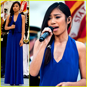 Jessica Sanchez PBS Memorial Day concert National Anthem