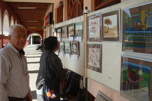 Expositiva 2011 en los Portales de la Municipalidad de Palpa Provincia de Ica.