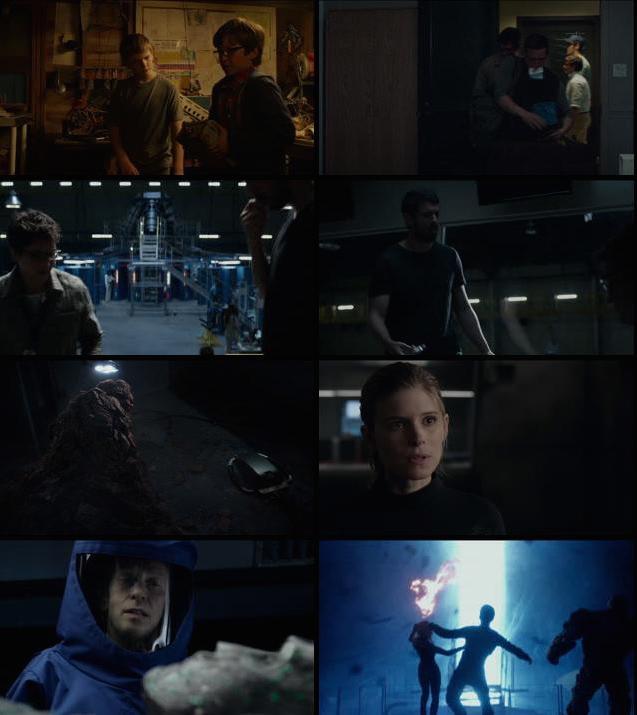 Fantastic Four 2015 English BluRay 720p 700MB