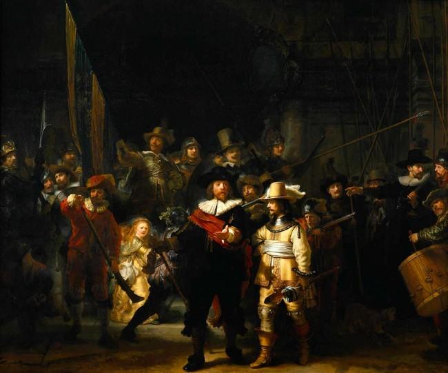 Ronda Nourna de Rembrandt