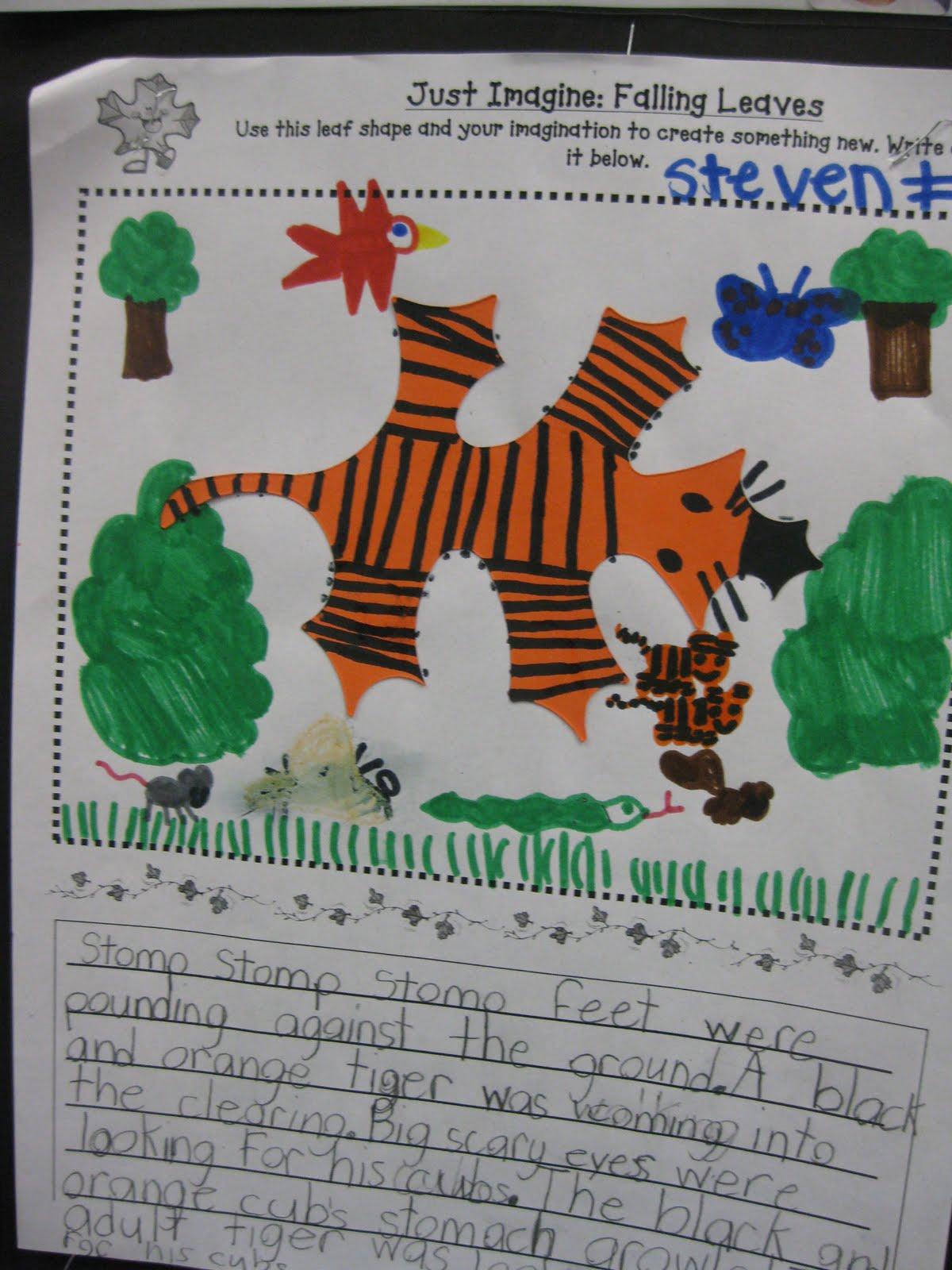 creative writing ideas 3rd grade