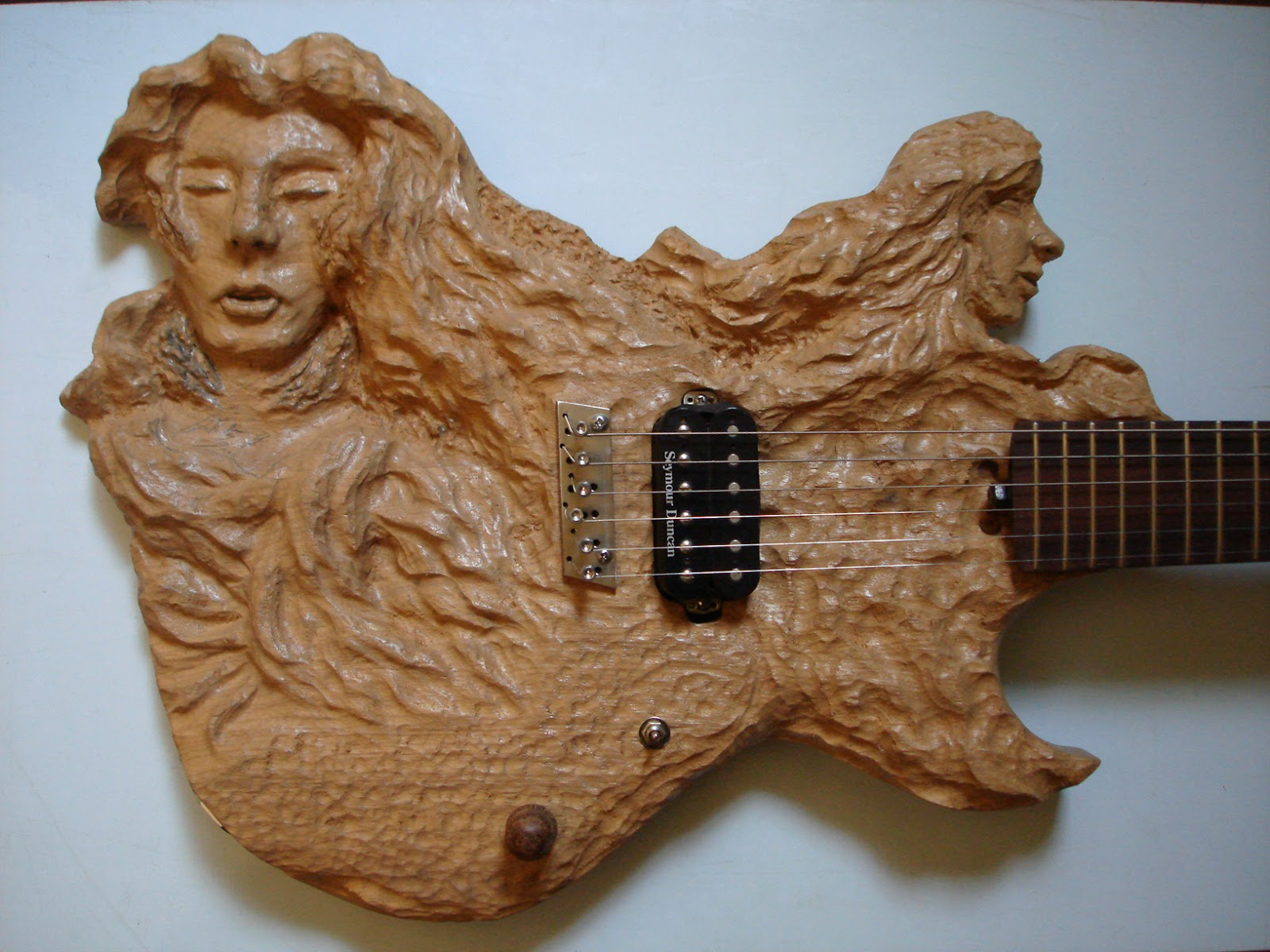 handmade electric guitar