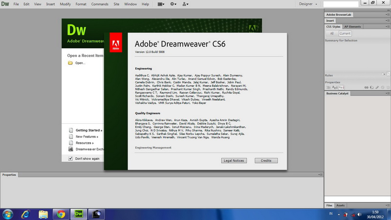 dreamweaver cs6 with crack