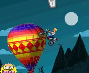 Uçan Motorsiklet Oyunu