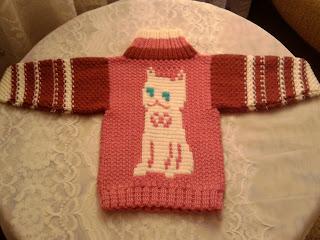 Детский яркий вязаный свитер для мальчика