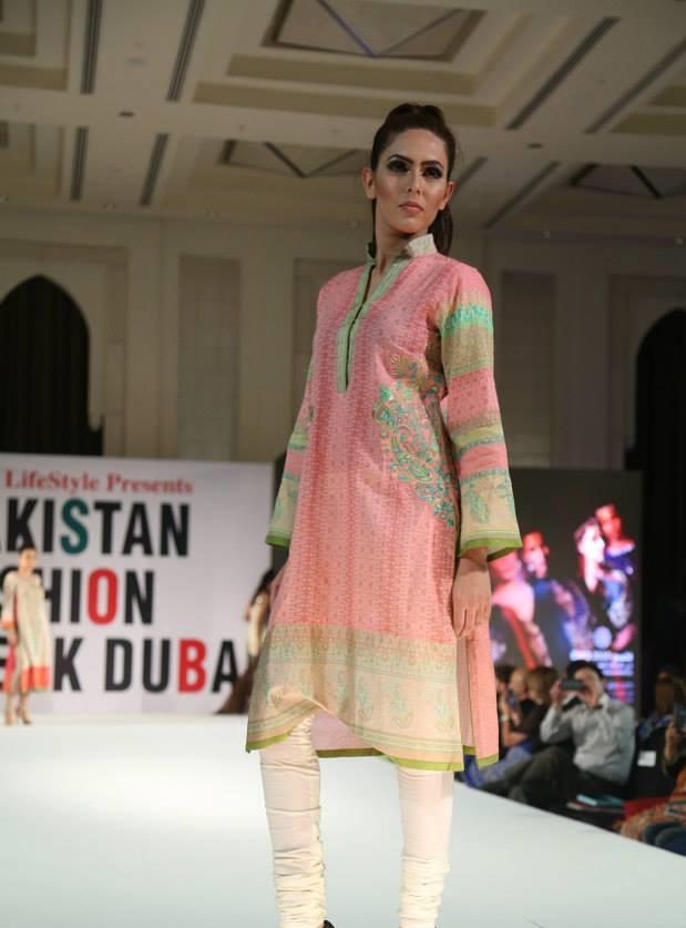 Pakistan Fashion Week 2015 In Dubai Fashion Point