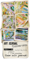 Algunos proyectos... Art Journal Conversion con Roben-Marie
