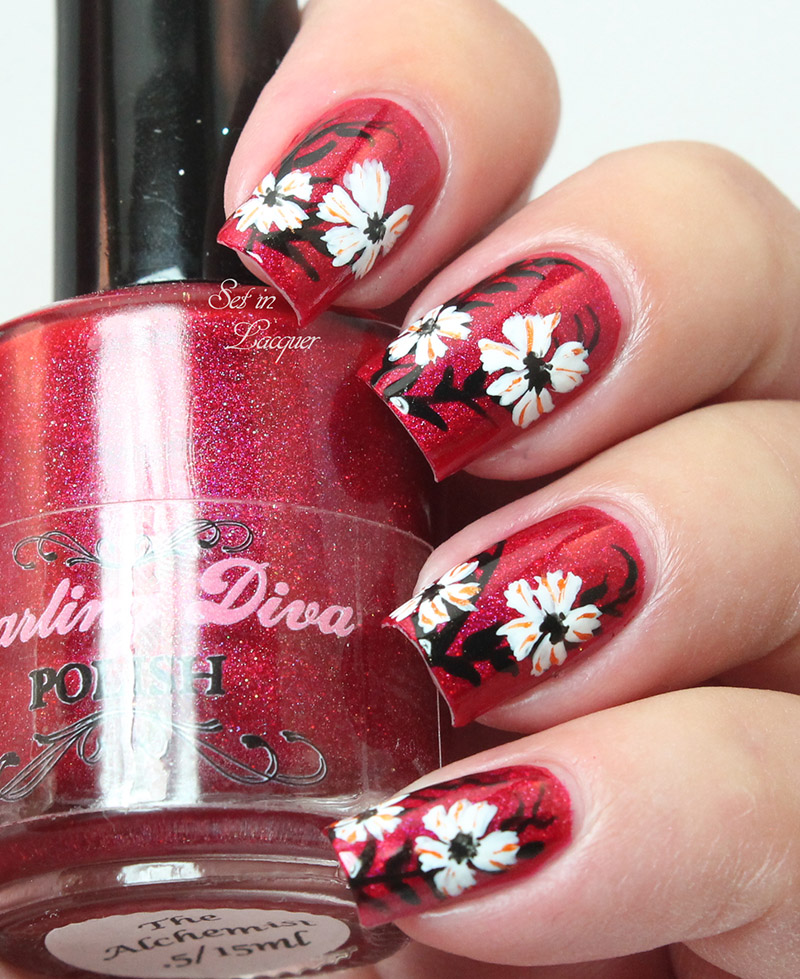 Far East Floral Nail Art
