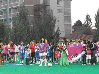 INAUGURACIÓN   CAMPEONATO  2010 / 2011