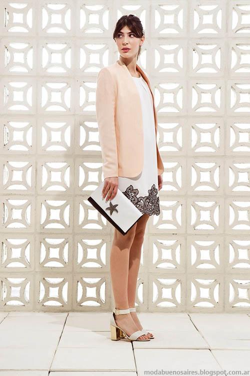Moda casual elegante primavera verano 2015, colección Clara 2015.