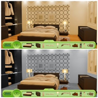 how to say here are the 2 bedrooms in italian
