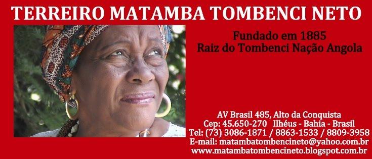 Terreiro  Matamba Tombenci Neto