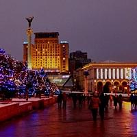 Киев новогодний