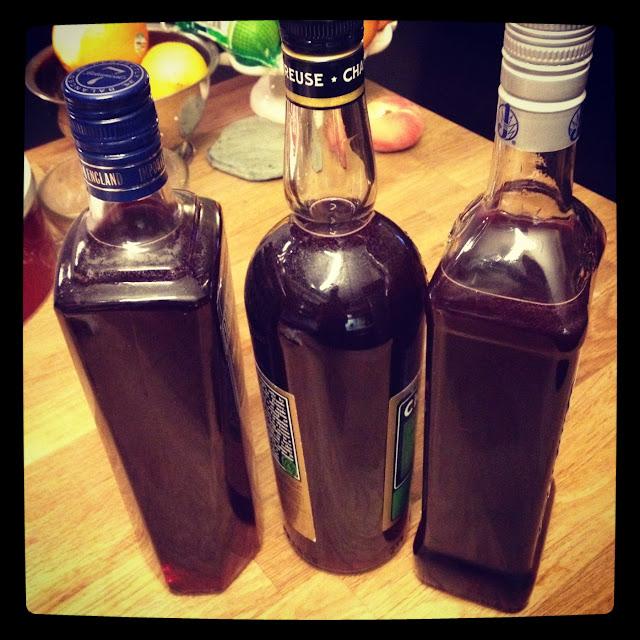 homemade grenadine (cold process)