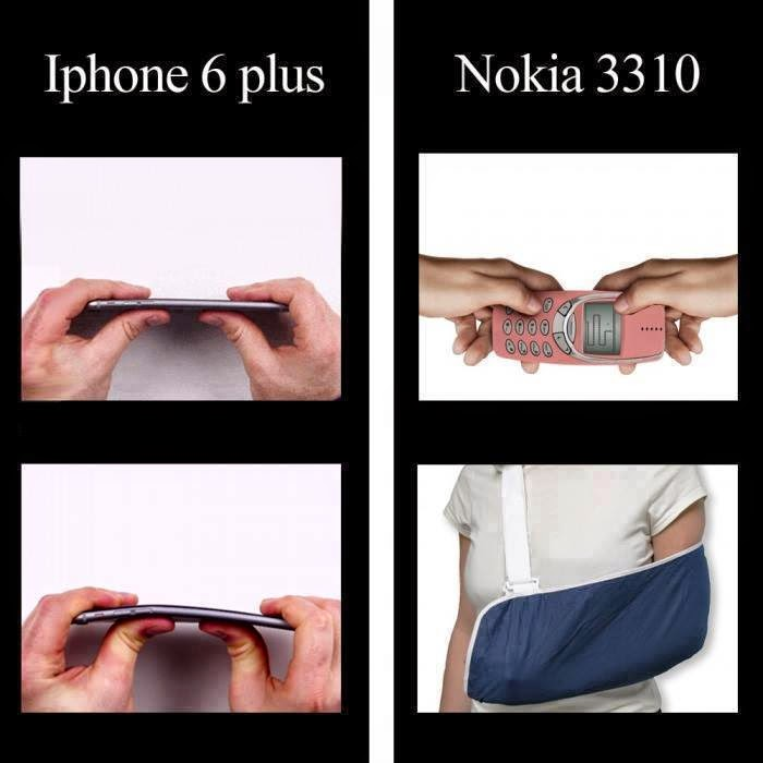 iPhone 6 vs Nokia