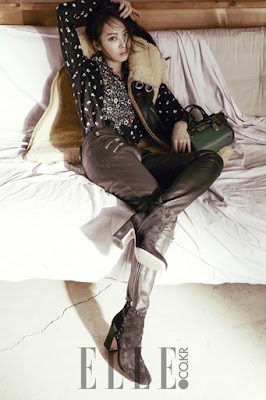 Victoria Song f(x) Elle October 2015