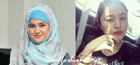 Marshanda Berhijab Vs Lepas Hijab BeforeAfter