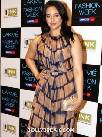 Not so thin Sonakshi Sinha -  Bollywood babes with real curves ~