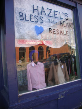 [ hazel's bless your heart resale shop ]
