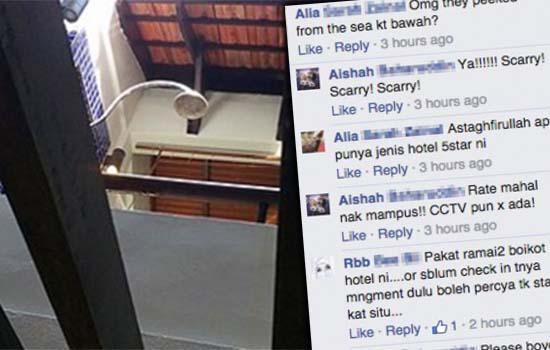 Staf Avillion Hotel Group Kantoi Skodeng Wanita Mandi
