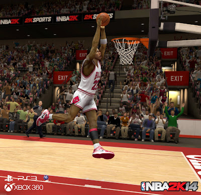 NBA 2K14 Michael Jordan (Chicago Bulls)